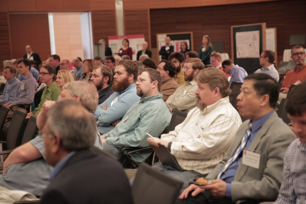 Photo of lecture attendees